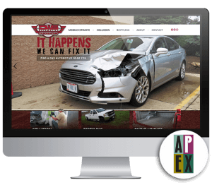 D&S Automotive Website Mockup