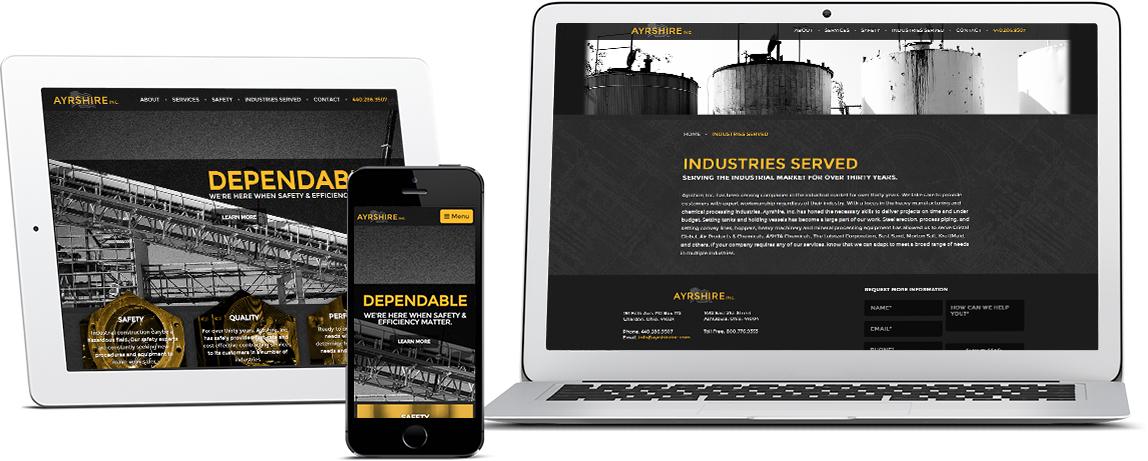 Ayrshire Website Showcase