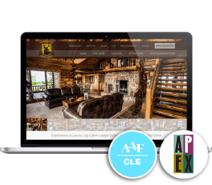 Coshocton Crest Lodge Website Mockup