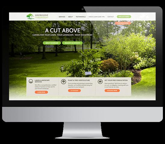 Shoreline Yardworks Website