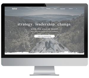 Telos Website Design