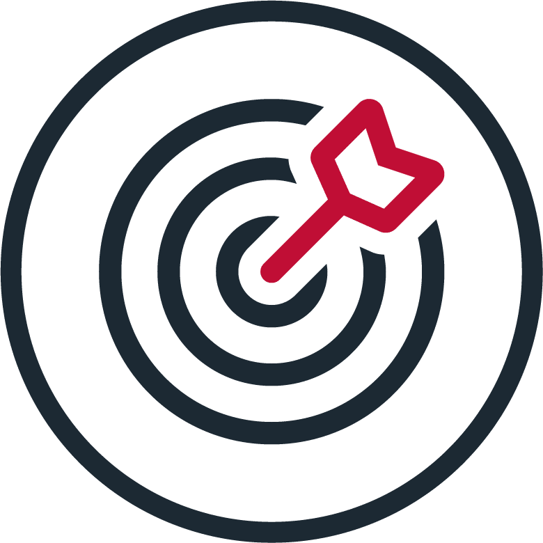 bullseye arrow icon