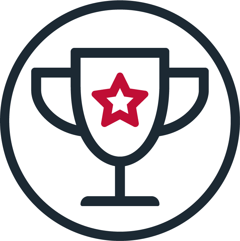 trophy success icon